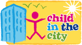 Child in the city logo